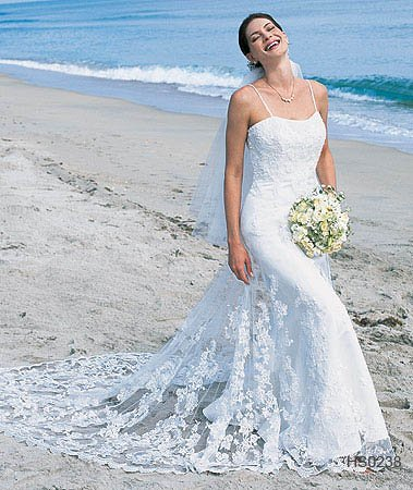 2010 White Wedding Dress Gown Size  all DS026