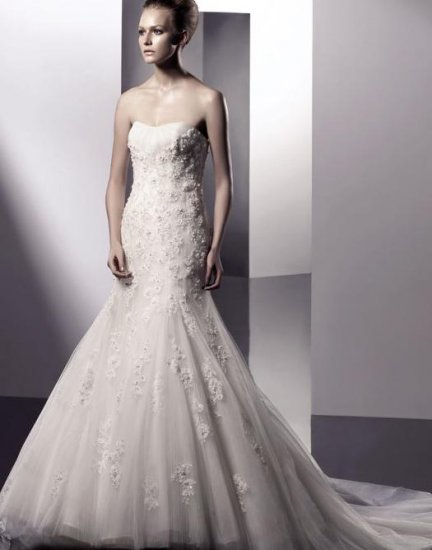 2010 White sexy Wedding Dress Gown Size all Custome-made DS027