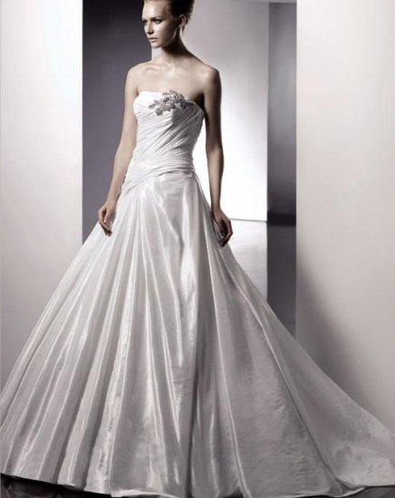 2010 Hot White Wedding Dress Gown Size all DS029