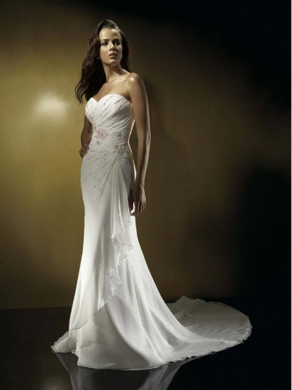 New Custom-made Romantic Sexy wedding Dresses Gown DS040