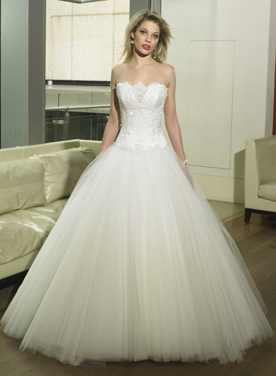 New style Custom-made wedding Dress bridal wear Gown DS049