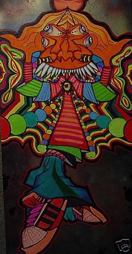 RICO GRAFFITI ART Urban pop psychedelic banksy kaws