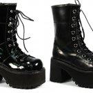 """Ranger"" - Women's Lace Up Platform Ankle Boots"