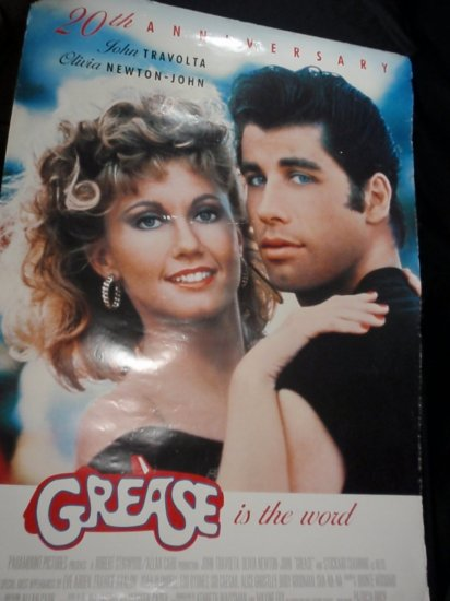 20th anniversary edition grease poster