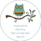 Personalized Owl Labels - All Occassions