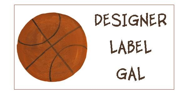 Personalized Sports Name Labels
