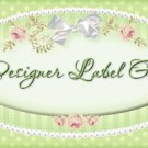2 TWO Personalized Diaper Bag Tag - Design Your Own