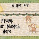 Personalized Boutique Enclosure Cards - For Kids