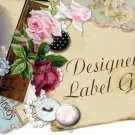 Personalized Monogrammed Wedding Labels