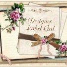 Personalized Elegant Wedding Labels - Anniversary