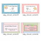24 Personalized Baby Shower Scratch Off Cards
