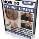 HOW TO REDUCE STRESS AT WORK & AT HOME