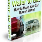 How To Make Your Car Run On Water
