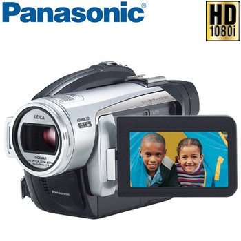 PANASONIC HD VIDEO CAMCORDER/CAMERA special offer on two