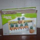 Pineapple spice rack