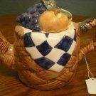 Picnic Basket Teapot