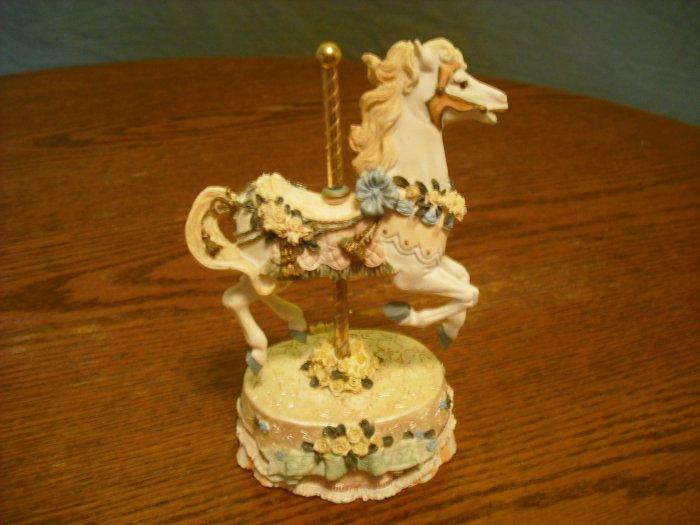 """Carousel Horse """" love me tender"""""""