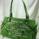 Green Glitter Small Tote