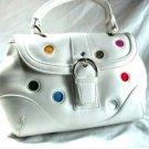 White Polka Dot Handbag