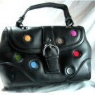 Black Polka Dot Handbag
