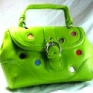 Green Polka Dot Handbag