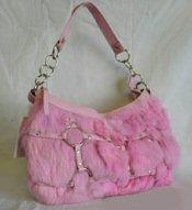 Genuine Rabbit Fur Handbags