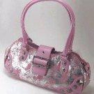 Pink & Silver Bag