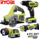 4-PC POWER TOOL PACK