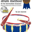 Rudimental Drum Method for the Intermediate Drummer Book/CD Set by Joe Maroni