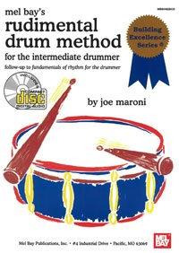 Rudimental Drum Method for the Intermediate Drummer Book/CD Set by Joe Maroni