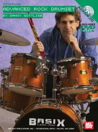 Advanced Rock Drumset DVD/Chart Set by Danny Gottlieb