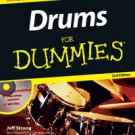 Drums for Dummies 2nd Edition Book/CD Set by Jeff Strong