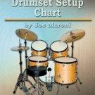 Drumset Setup Chart by Joe Maroni