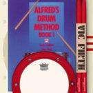 Alfred's Drum Method, Book 1 - Drum Pack (Book, Pad, & Sticks)
