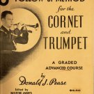 Universal's Follow Up Method CORNET and TRUMPET Book Donald J Pease