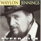 WAYLON JENNINGS SUPER HITS CD free shipping