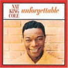 NAT KING COLE UNFORGETTABLE music cd free shipping
