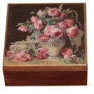 Vintage roses box