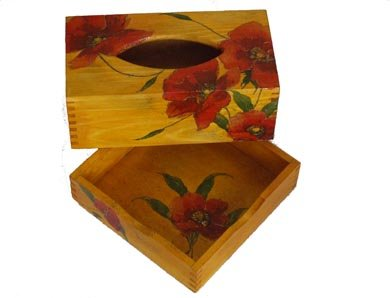 Tissue box & tray