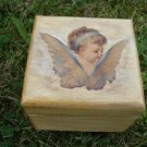 Jewelry box with angel