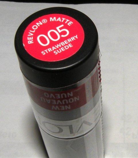Revlon Matte Lip Stick Color STRAWBERRY SUEDE 005
