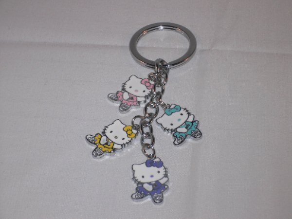 Ballerina Hello Kitty Charms Key Chain