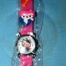 Hello Kitty watch: Pink Jelly Band, Women's
