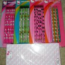 HELLO KITTY Stationary Set: Pencils, Colored Pencils, Note Pad