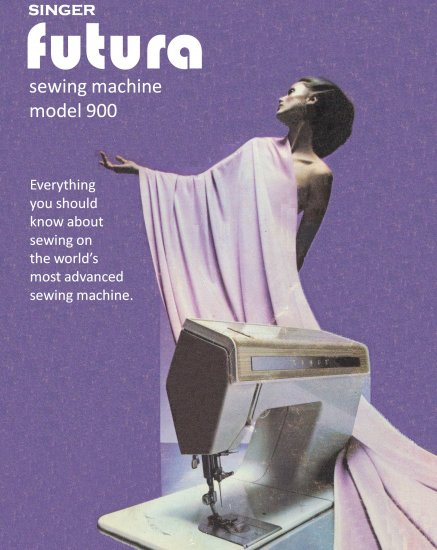 Singer Futura 900 Sewing Machine MANUAL in pdf format