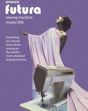 Singer Futura 900 Sewing Machine MANUAL in pdf format