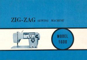 Stradivaro Model 5600 Zig Zag Sewing Machine MANUAL in pdf format