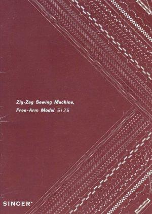 Singer Model 6136 Zig Zag Sewing Machine MANUAL in pdf format