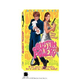 Austin Powers International Man Of Mystery (VHS) 1999
