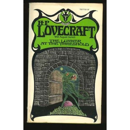 The Lucker At the Threshold by HP Lovecraft (BOOK) 1976